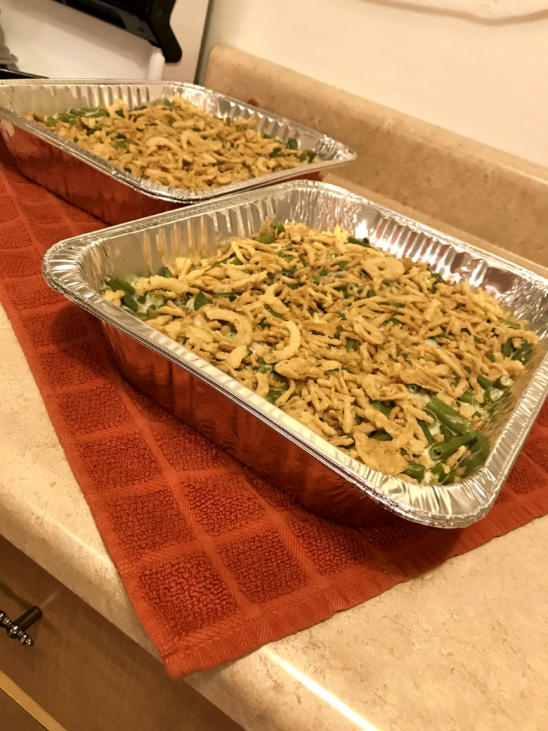 Green Bean Casserole Big Enough to Feed a Crowd