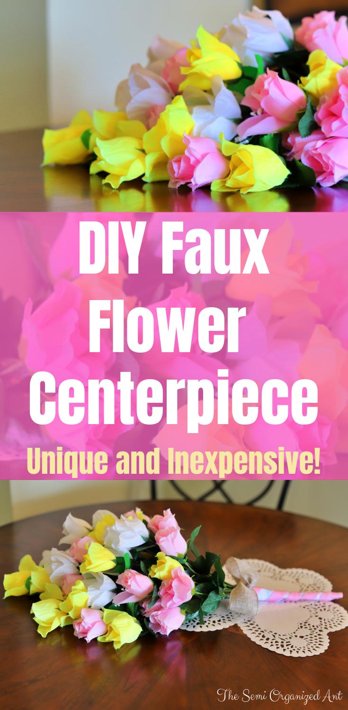 How to create a unique spring centerpiece