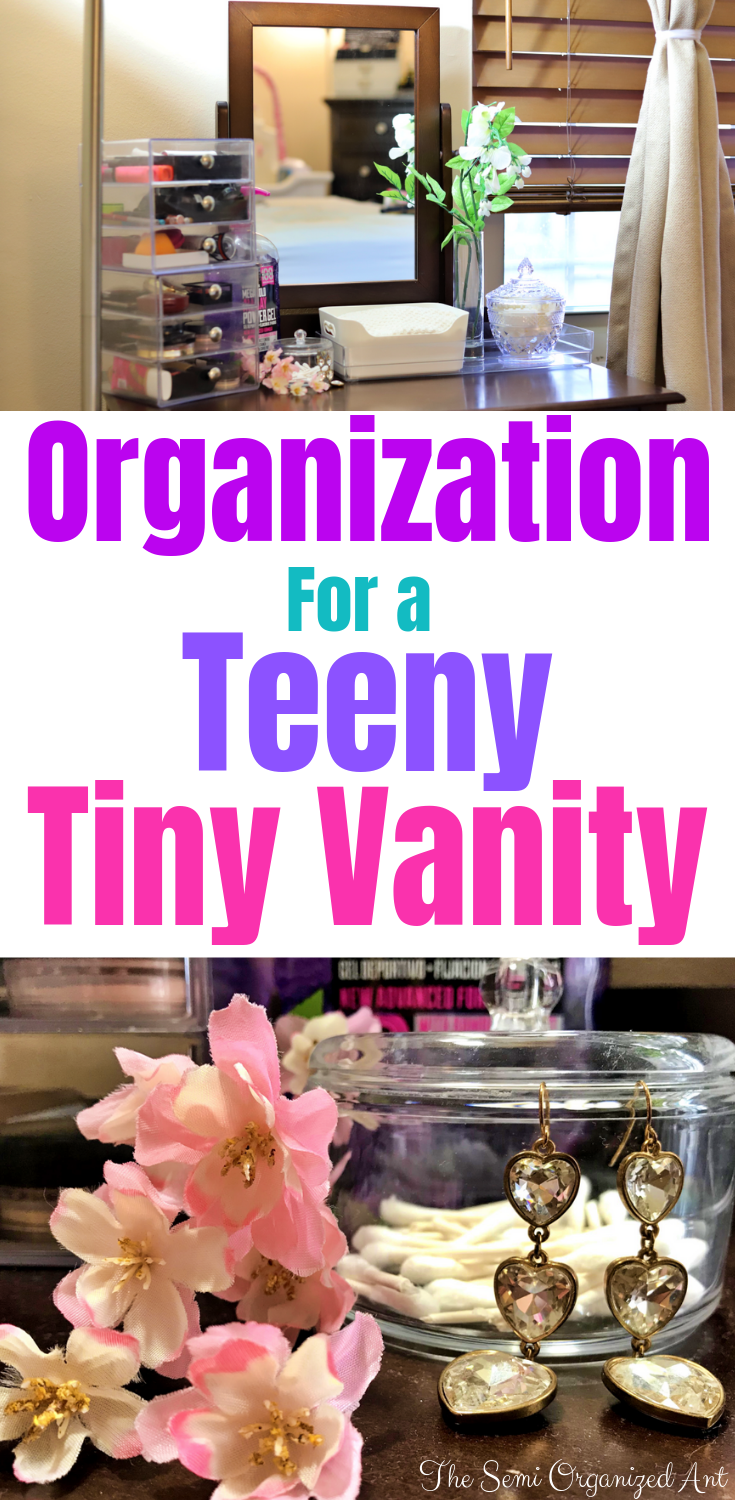 Simple Decor and Organization for a Teeny Tiny Vanity