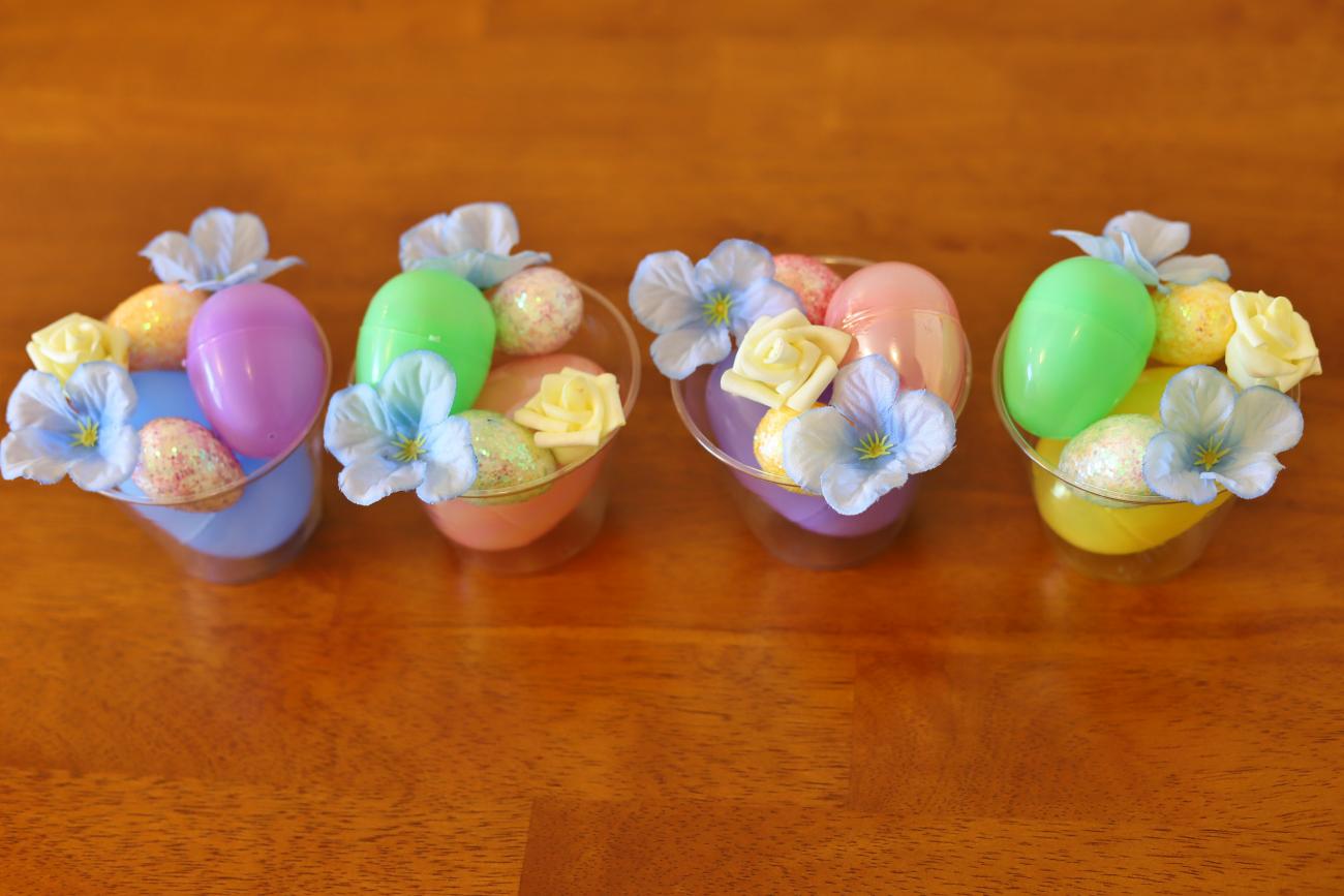 Easter Centerpiece, Flowers