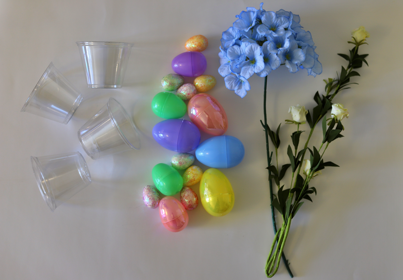 Easter Centerpiece, Supplies