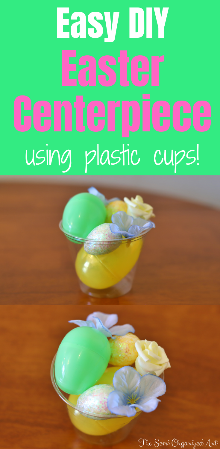 Quick and Easy DIY Easter Centerpiece