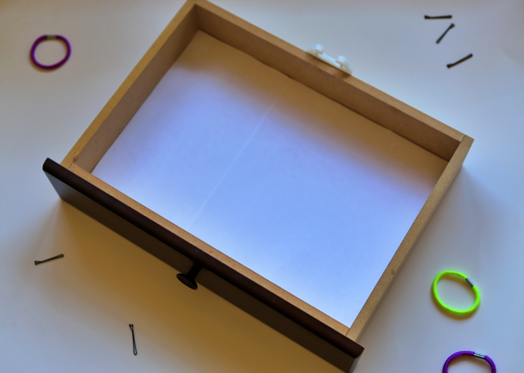 How to Line a Small Drawer with Printer Paper