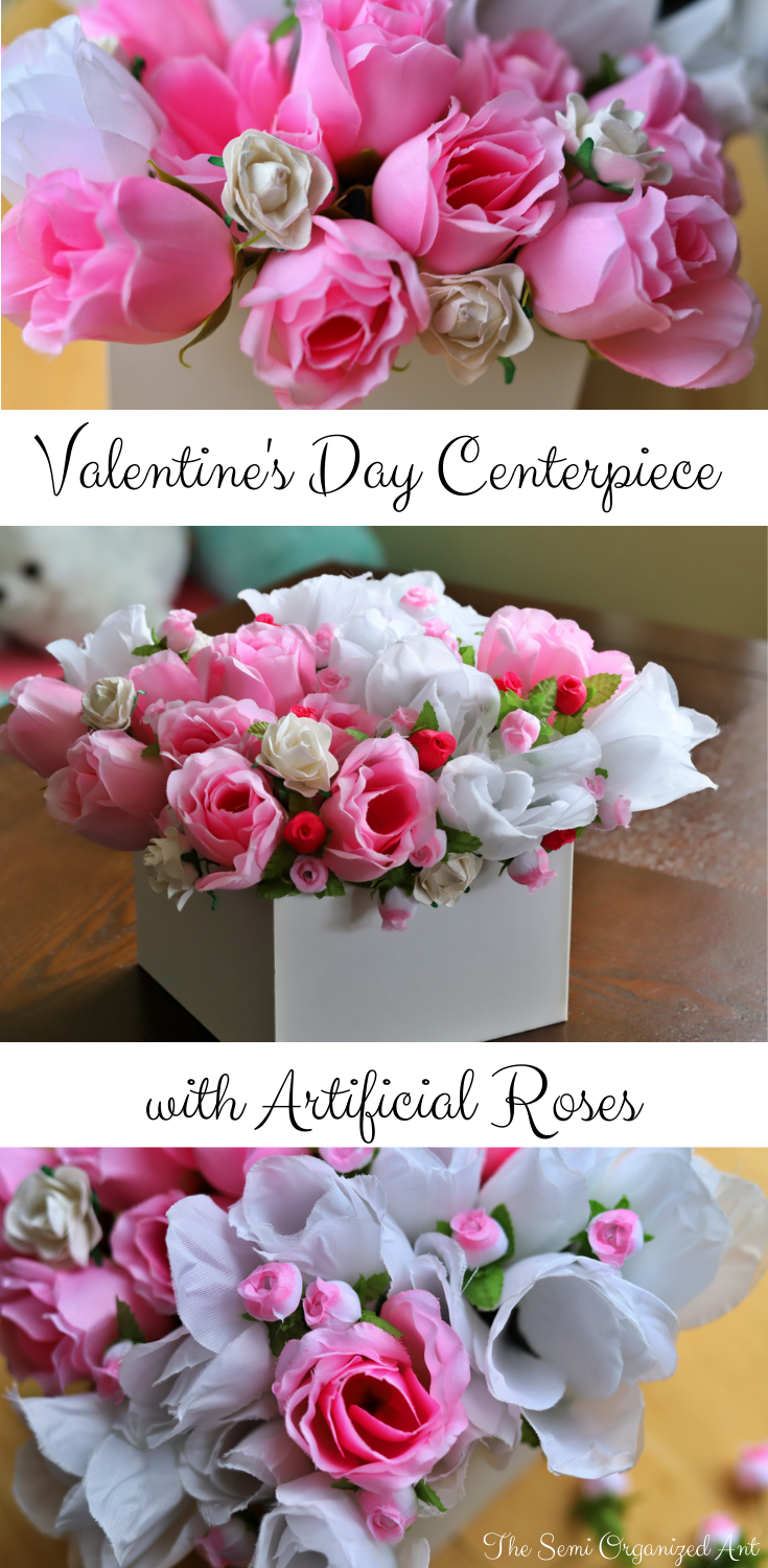 Valentines Day Centerpiece - The Semi Organized Ant