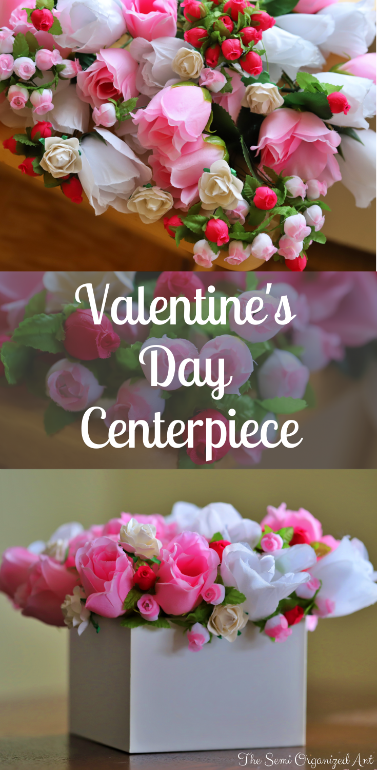 Valentines Day Centerpiece - The Semi Organized An